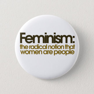 Feminist Definition Pinback Button