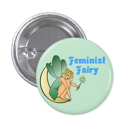 Feminist Fairy (Version 1) Pins