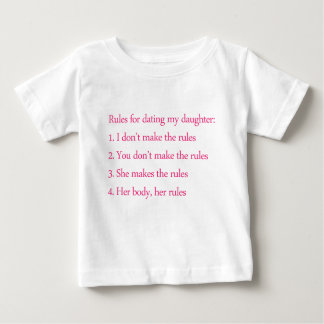 Feminist Father and his rules Baby T-Shirt
