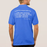 Feminist Father Rules for Dating My Daughter Polo Shirt