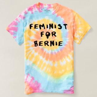 Feminist For Bernie Sanders 2016 T Shirt