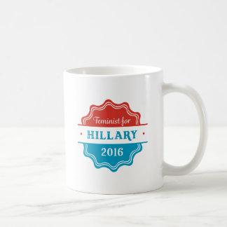 Feminist for Hillary 2016 Coffee Mug