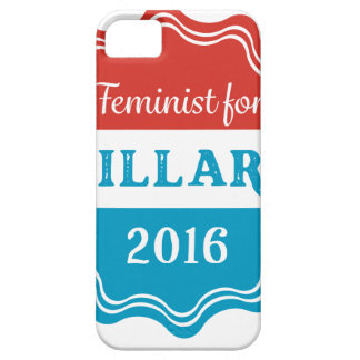Feminist for Hillary 2016 iPhone SE/5/5s Case