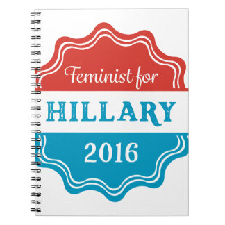 Feminist for Hillary 2016 Notebook