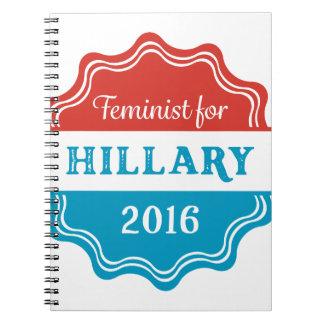 Feminist for Hillary 2016 Notebook