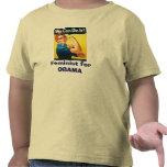 Feminist for OBAMA T Shirts