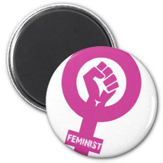 Feminist Gender Rights Symbol Magnet