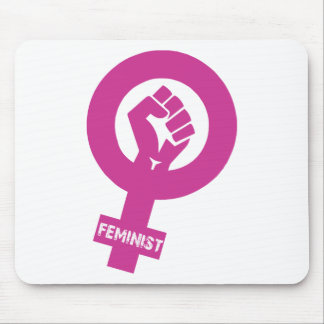 Feminist Gender Rights Symbol Mouse Pad