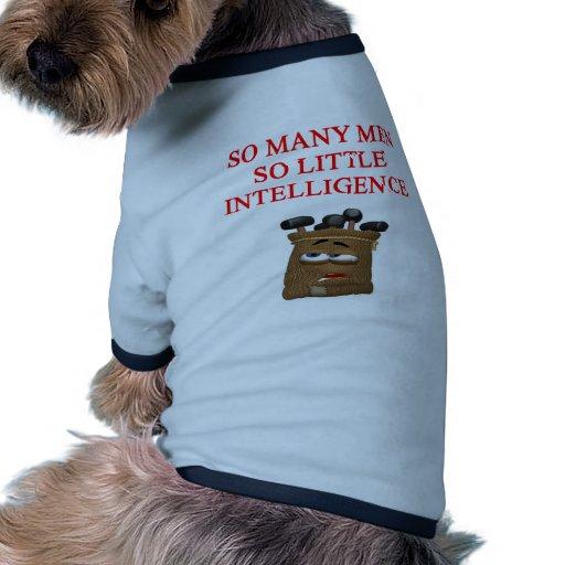 feminist joke dog tee shirt