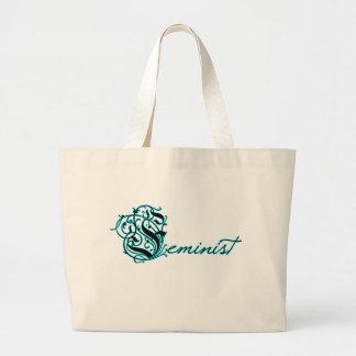 Feminist Large Tote Bag
