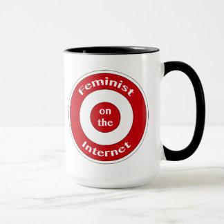 Feminist on the Internet (target) Mug