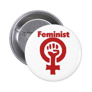 Feminist Pinback Button