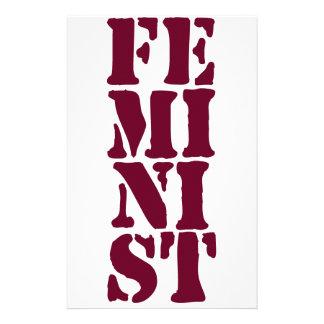 Feminist! Stationery
