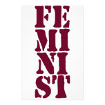 Feminist! Stationery Paper