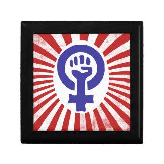 Feminist Symbol Jewelry Boxes