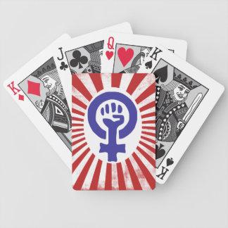 Feminist Symbol Deck Of Cards
