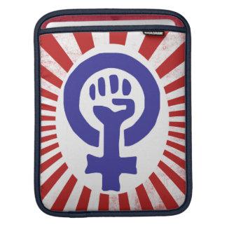 Feminist Symbol Sleeve For iPads