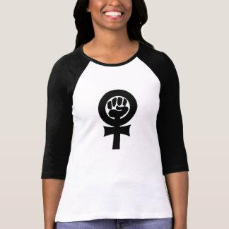 Feminist symbol t shirt
