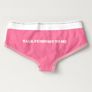 Feminist Undies Boyshorts