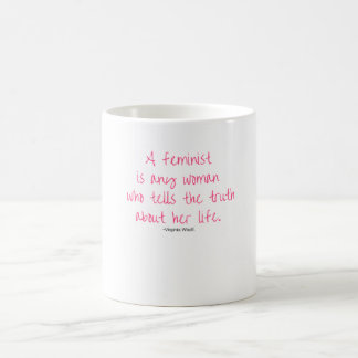 Feminist Virginia Woolf Mug
