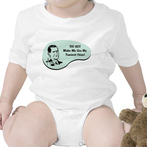 Feminist Voice T-shirts