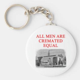 feminist women joke key chain