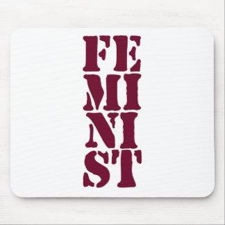 ¡Feminista Alfombrilla De Raton