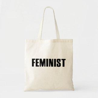 Feminista Bolsas Lienzo