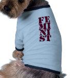 ¡Feminista! Camisas De Perritos
