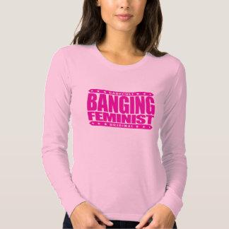 FEMINISTA de GOLPEO - pelea a puñetazos de I para Camisas