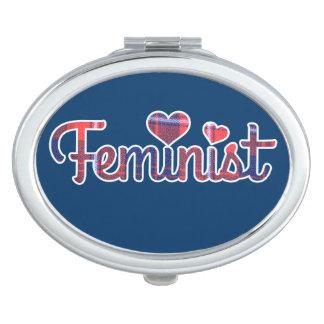 Feminista Espejos De Maquillaje