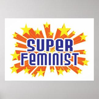 Feminista estupenda impresiones