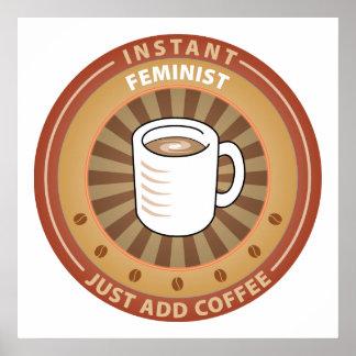 Feminista inmediata impresiones