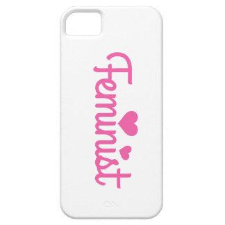 Feminista linda iPhone 5 carcasa