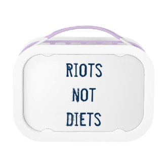 Feminista Lunchbox: Riots Not Diets Lunch Box