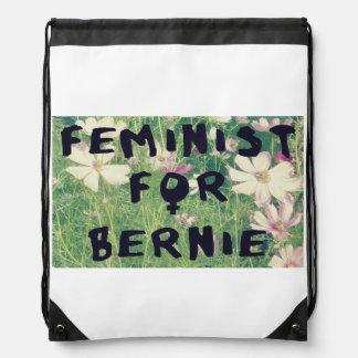Feminista para las chorreadoras 2016 de Bernie Mochila