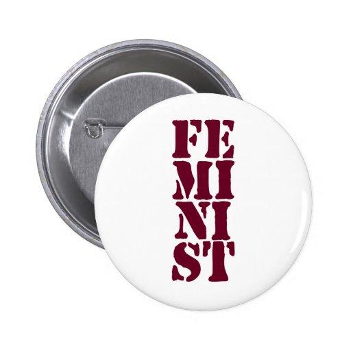 ¡Feminista! Pin