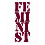 ¡Feminista! Postales