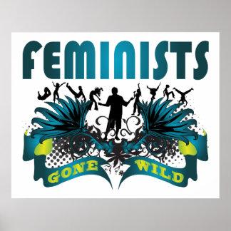 Feministas idas salvajes posters