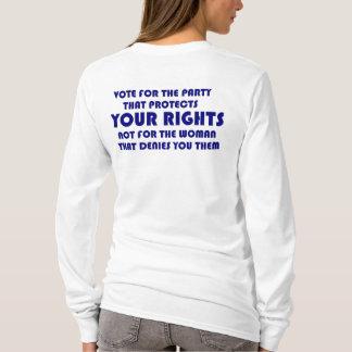 Feminists Against Sarah Palin Long Sleeve T-Shirt