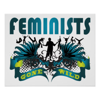 Feminists Gone Wild Poster