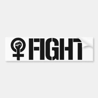 Feminists Resist - Fight Now - Feminist Bumper Sti Bumper Sticker