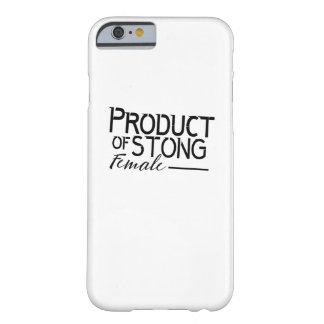 feminists Strong Female woman Girls Gift Barely There iPhone 6 Case