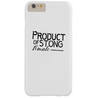 feminists Strong Female woman Girls Gift Barely There iPhone 6 Plus Case