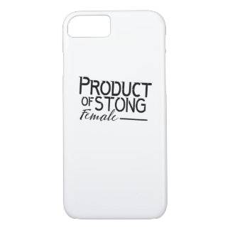 feminists Strong Female woman Girls Gift iPhone 8/7 Case
