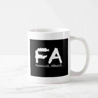 Feminst. Atheist. Coffee Mug