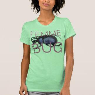 femme bug t shirt