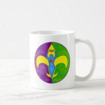 Femme de lis classic white coffee mug
