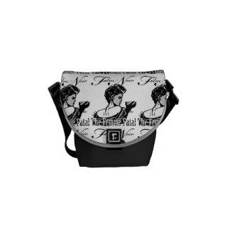 Femme Fatal Courier Bags