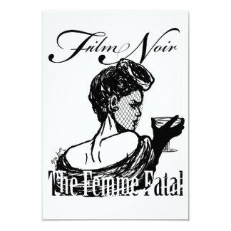 """Femme fatal invitación 3.5"""" x 5"""""""